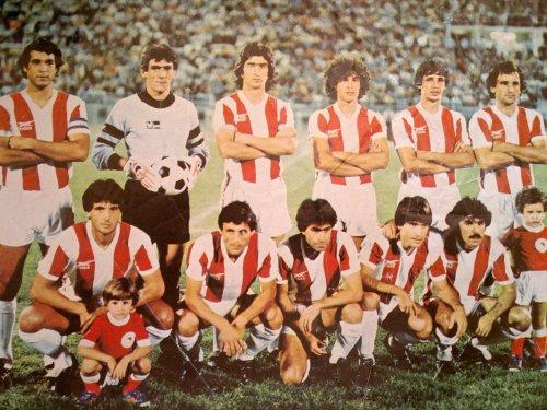 ΟΛΥΜΠΙΑΚΟΣ 1981-82 ΠΡΩΤΑΘΛΗΤΗΣ