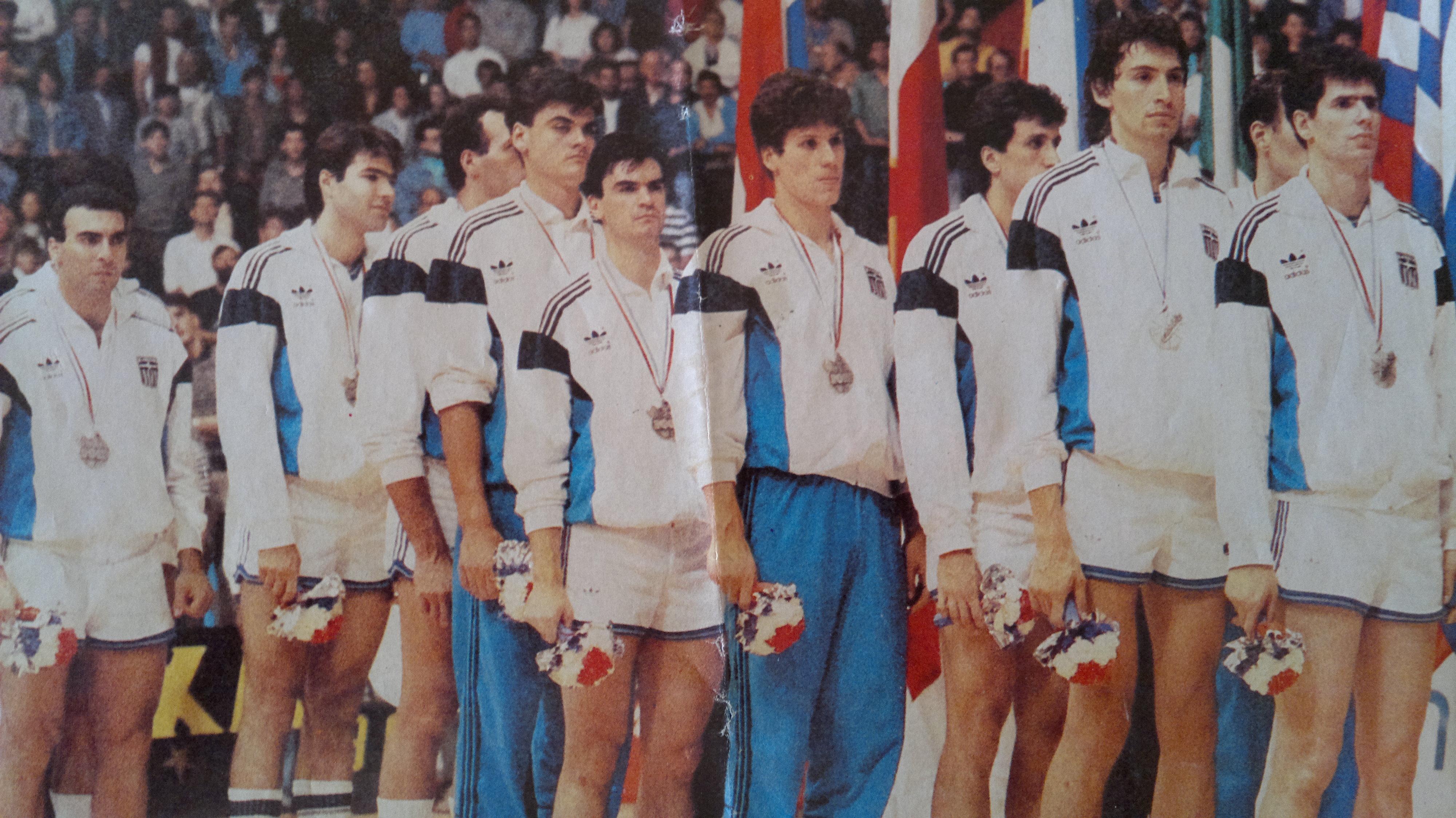 Αποτέλεσμα εικόνας για μπασκετ 1987